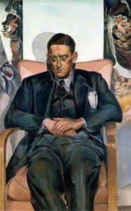 A 1938 portrait of T. S. Lewis, by Wyndham Lewis