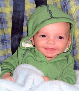 Little Jack at 2 months